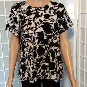 Croft & Barrow floral t-shirt